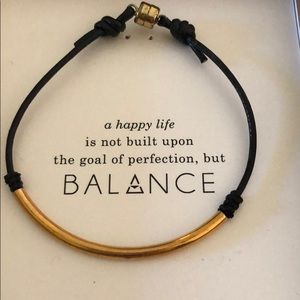 NEW Dogeared balance bracelet
